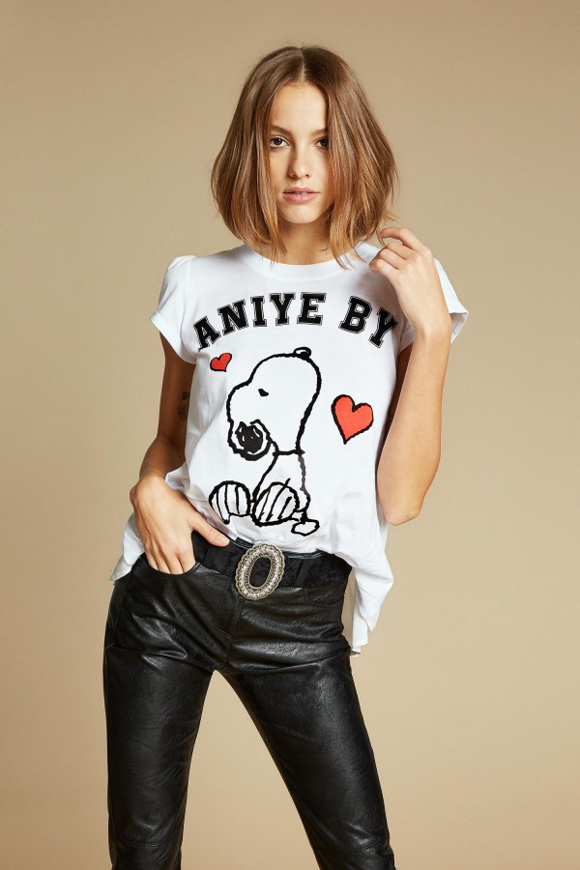 Picture of T-Shirt -Aniye By - Rouches Snoopy
