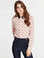 Picture of Camicia Stampa Leslie -  Guess