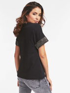 T-shirt  con logo frontale Guess