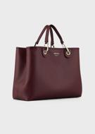 Shopper MyEA Bag stampa cervo Emporio Armani