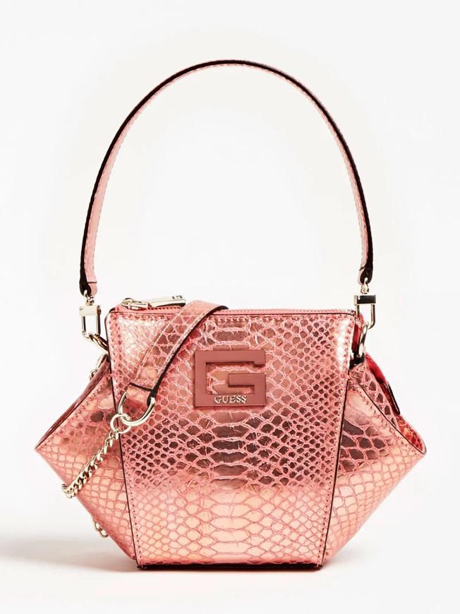 Immagine di Guess HWMC7753740 - Mini borsa a spalla DINNER DATE - ROSA