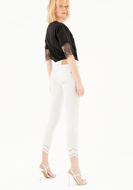 Picture of Pantalone cotone skinny - Fracomina