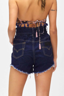 Immagine di Short in jeans Summer of love 0679BL