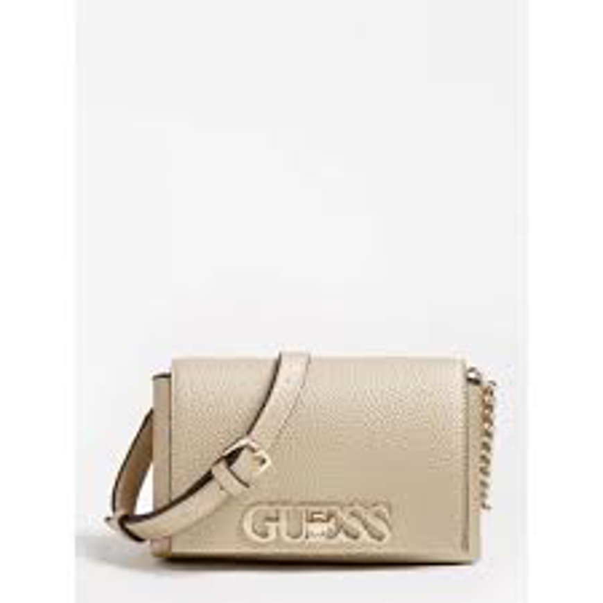 Picture of Guess HWAG7301780 - MINI TRACOLLA UPTOWN CHIC - ORO